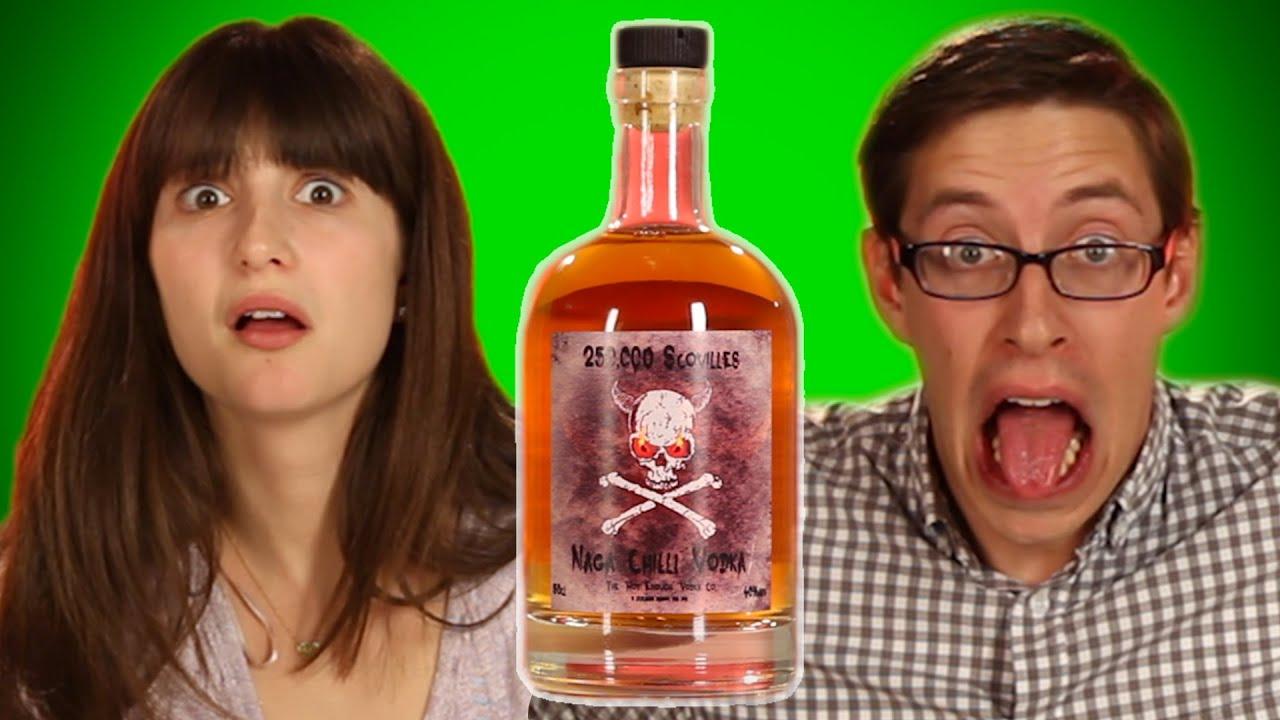Weird International Liquor Taste Test thumbnail
