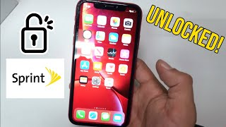 How to Unlock ANY iPhone from SPRINT - Unlock iPhone XS/XS Max/11/11 Pro/ Max/Etc.