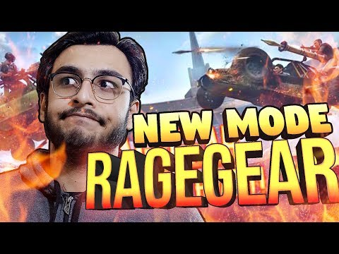 PUBG MOBILE LIVE: RAGE GEAR NEW UPDATE 0.16.0 RELEASE | SEASON 10 ROYAL PASS | RAWKNEE