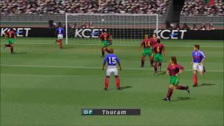 ISS Pro Evolution 2 PS1 Gameplay HD