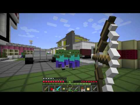 Nuketown Zombie Map Minecraft Project