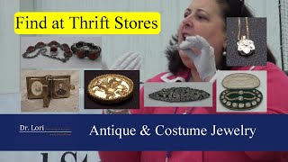 Pricing Antique & Costume Jewelry - Diamonds, Necklaces, Brooches, Cameos & Charms By Dr. Lori
