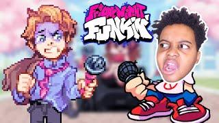 SHILOH vs SENPAI (Friday Night Funkin')   Onyx Squad Gaming Highlights