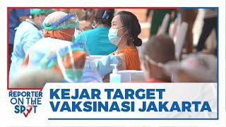 Kejar Target Vaksinasi Covid-19 di DKI Jakarta, Pemerintah Prioritaskan Permukiman Padat Penduduk