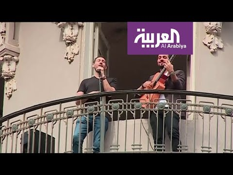 العرب اليوم - شاهد: أحمد الروبي يغني من