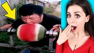 The FASTEST Eaters in the World Compilation !