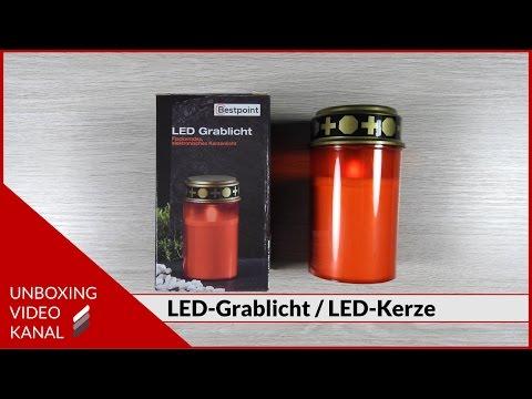 LED-Grablicht-Kerze - Unboxing Planet