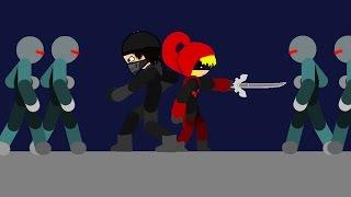 Mega & Red VS Skell's Army - Undertale Animation (Megatale Part-5)