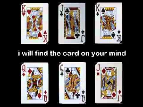 THIS CARDS TRICK WILL READ YOUR MIND