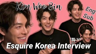 (ENG SUB) Kim Woo Bin: Interview For Esquire Korea July 2020