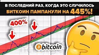 Биткоин: В Последние Два Раза После ЭТОГО был ПАМП на 445% !!! 7,4к $ за BTC еще можно ожидать??