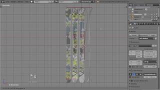 Blender, freestyle ski (not a tutorial)