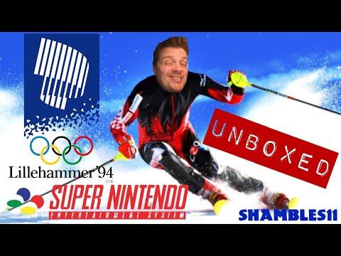 Winter Olympics '94 SNES Unboxing
