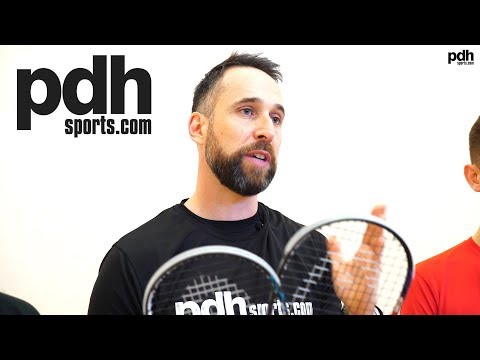 HEAD Graphene Touch Radical 135 SB and 120 SB squash racket review by PDHSports.com part one