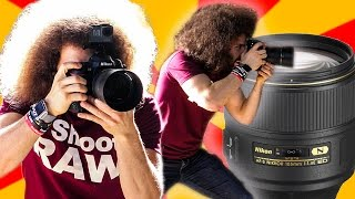 "Nikon 105mm F1.4 ""Real World Review"": The BEST Sharpest Portrait Lens I've Ever Used"