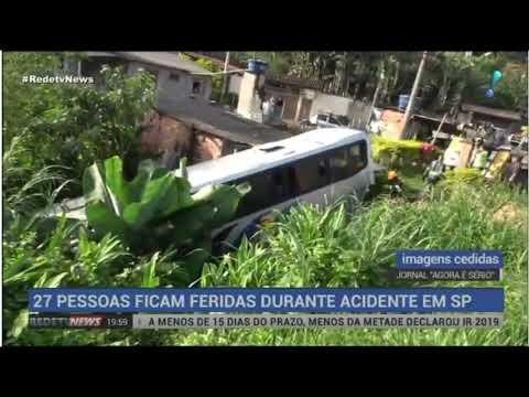 Imagens do Agora é Sério no Jornal Redetv News