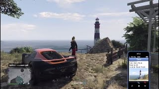 GTA V Mount Gordo Lighthouse Location