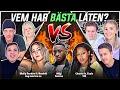 VEM HAR BÄSTA LÅTEN? (Yasin x Cherrie, Newkid x Molly Sanden, Migi)   Swedish Rap Reaction   #10