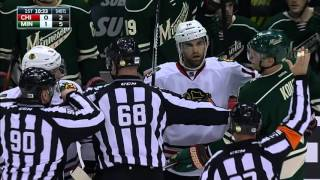 Gotta See It: Keith viciously swings stick at Coyle's face