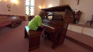 Mae Brown 1910s States Medley No. 15 piano roll