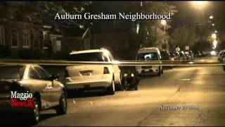 Drive by Shooting in Auburn Gresham Neighborhood in Chicago