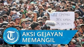 VIDEO: Trending #GejayanMemanggil, Aksi Gejayan Terulang Lagi