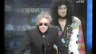 Roger Taylor & Brian May MTV awards USA and GnR