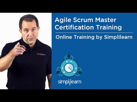 Agile Scrum Master Training | Simplilearn Live Virtual Class - YouTube