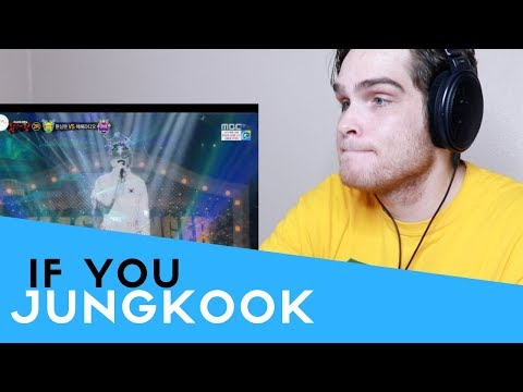 Voice Teacher Reacts To If You - Jungkook