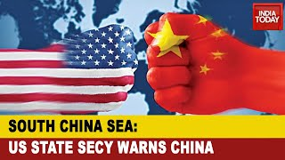 South China Sea Not Dragon Maritime Empire : US State Secy Warns China - Download this Video in MP3, M4A, WEBM, MP4, 3GP