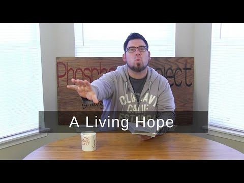 A Living Hope | 1 Peter 1:3 | One Verse Devotional
