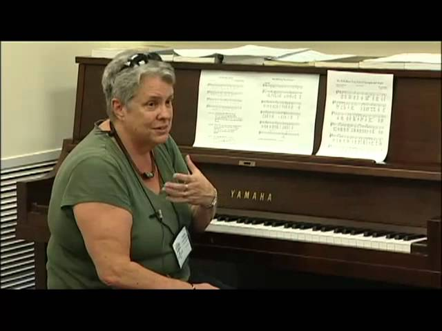 Sally Morris - Different Styles of Song