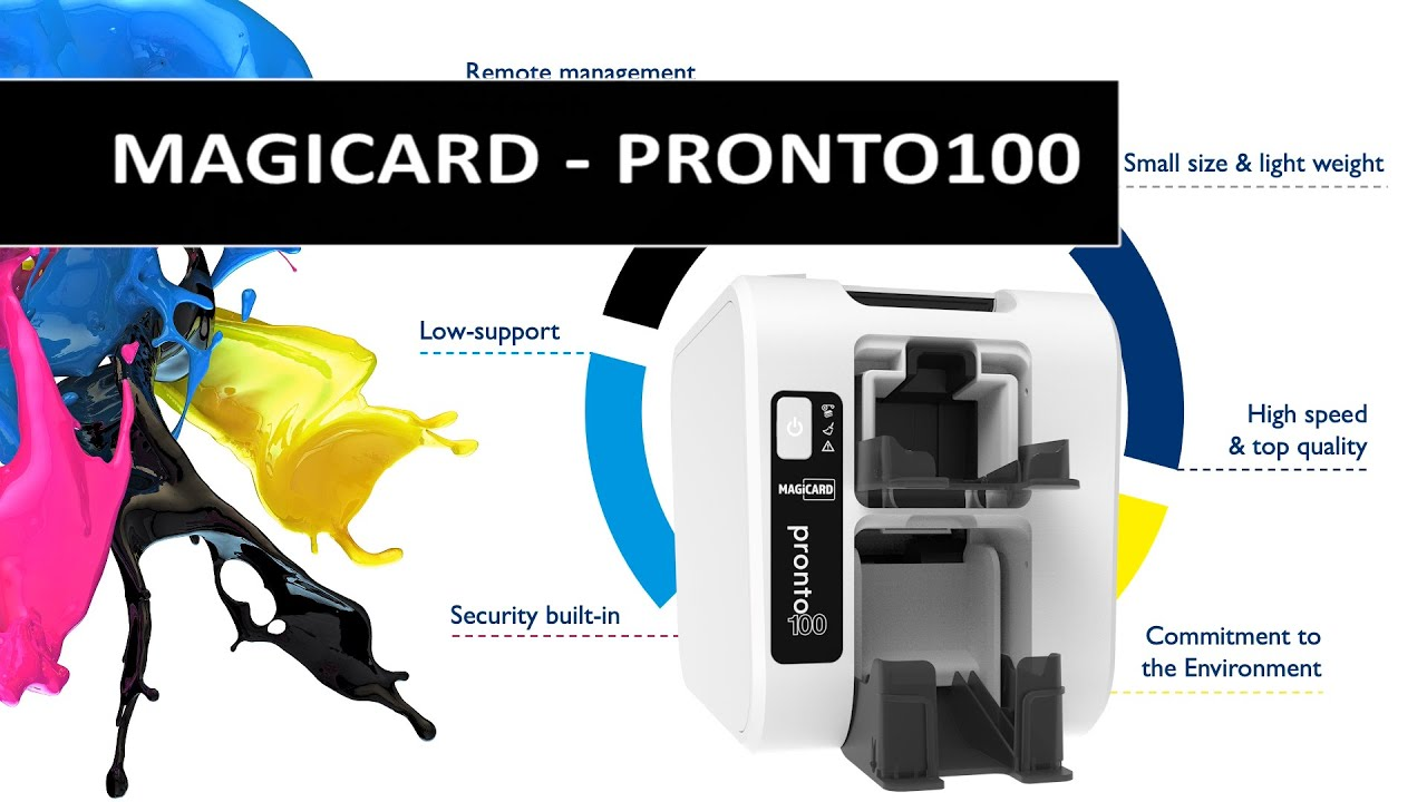 Watch our latest video and learn about the new Pronto100 printer from Magicard