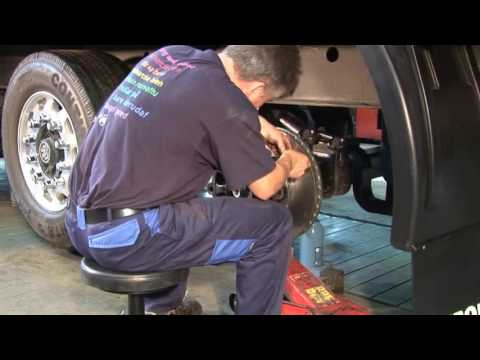 Download BPW ECO Disc Replacing The Disc Brake HD Mp4 3GP Video and MP3