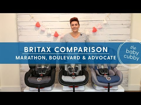 Comparison Between Britax Clicktight Car Seats | Marathon, Boulevard, Advocate