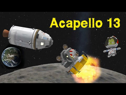 A Mun Mission where absolutely NOTHING goes wrong.....  - KSP