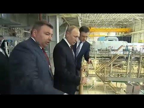 Ο Πούτιν στην Κριμαία πέντε χρόνια μετά την προσάρτηση της χερσονήσου…