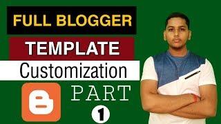 How To Customize Minima Colored 3 Adsense Friendly Blogger Template | Part 1 | Niraj Yadav
