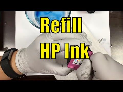 #1 Method of Refill HP Cartridge 60 61 62 63 64 65 66 67 68 21 59...