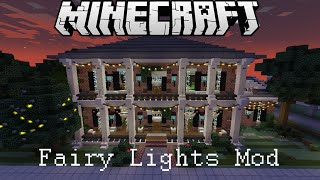 Minecraft Fairy Lights Mod Showcase
