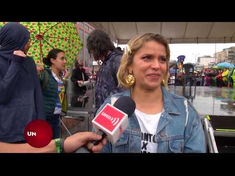 Adriana Lucía,conmovida por apoyo masivo a ´Un Canto por Colombia´