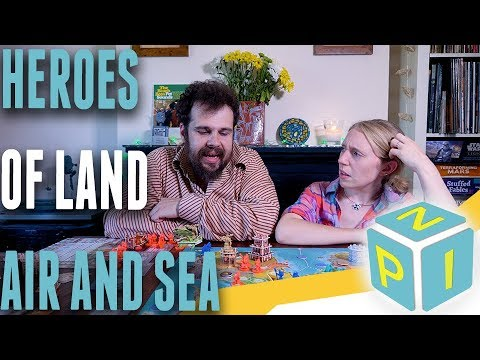 Cost of Plastic - Heroes of Land, Air and Sea Review