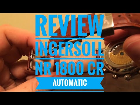 Review - Ingersoll NR 1800 CR Automatic