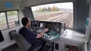 Praha hl. nádraží - Beroun/POHLED NA PRÁCI STROJVEDOUCÍHO/ HD KVALITA