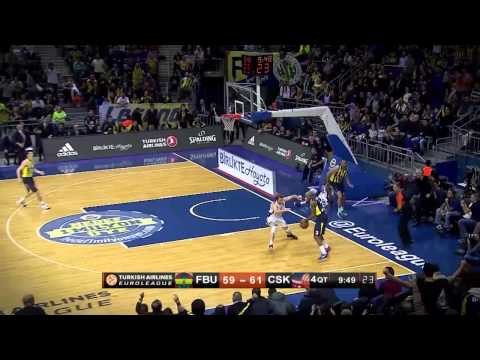 #hatmakers Block of the Night by Ricky Hickman, Fenerbahce Ulker Istanbul