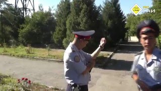 """ГАИ ИДП   Алматинской области  """"ТЫ кто такой"""" - 15 08 2015."""