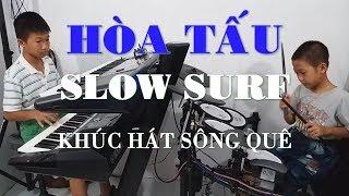 Khúc Hát Sông Quê - Hòa Tấu Slow Surf - Nhạc Sống PHONG BẢO