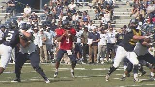 Gambar cover Freshman quarterback shines in Old Dominion Spring game