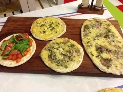 Delicias del Paraná y pizzas súperclásicas