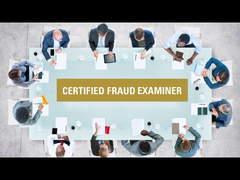 Certified Fraud Examiner (CFE) - Virtual Review Course - YouTube